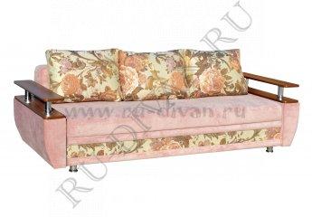Диван Наоми еврокнижка фото 1 цвет розовый
