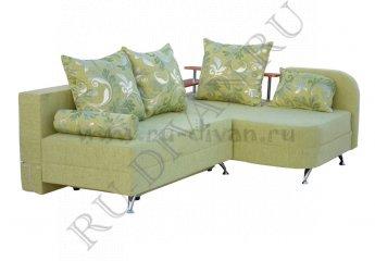 Угловой диван Мальта фото 1 цвет зеленый