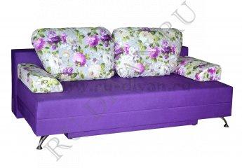 Диван Лерида еврокнижка фото 1 цвет фиолетовый