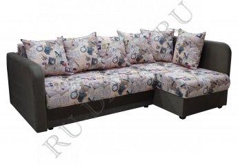 Угловой диван Берлингтон фото 1 цвет коричневый