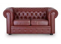 Двухместный диван Честер (Коричневый)