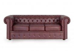 Трехместный диван Честер описание, фото, выбор ткани или обивки, цены, характеристики