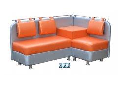 Угловой диван Лагуна со столиком