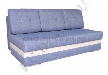 Диван Стэп 2 Люкс цвета: синий, серый