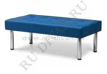 Банкетка Бизнес фото 1 цвет синий