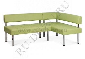 Угловой диван Бизнес фото 1 цвет зеленый