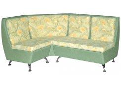 Угловой диван Беседа 2 (Зеленый)