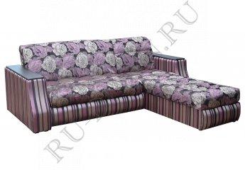 Угловой диван Аризона – отзывы покупателей фото 1 цвет фиолетовый