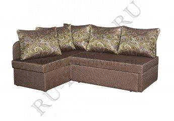 Угловой диван Виола – доставка фото 1 цвет коричневый