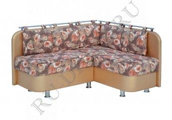 Угловой диван Лагуна для кухни фото 1 цвет коричневый