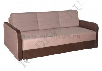 Диван Ясмин еврокнижка – отзывы покупателей фото 1 цвета: бежевый, коричневый