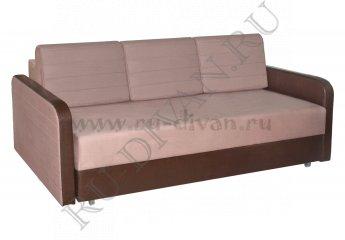 Диван Ясмин еврокнижка – доставка фото 1 цвета: бежевый, коричневый