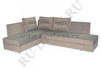 Угловой диван Космо фото 1 цвет серый