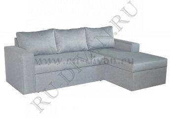 Угловой диван Гомер фото 1 цвет серый
