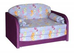 Детский диван Димочка УП описание, фото, выбор ткани или обивки, цены, характеристики