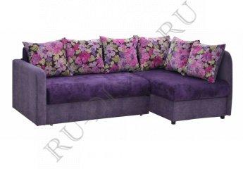 Угловой диван Берлингтон фото 1 цвет фиолетовый