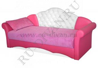 Тахта Мирабелла 2 – характеристики фото 1 цвет розовый