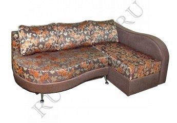 Угловой диван Клеопатра – характеристики фото 1 цвет коричневый