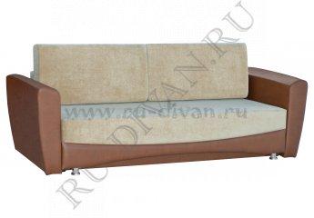 Диван Легион еврокнижка – доставка фото 1 цвет коричневый