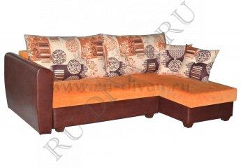 Угловой диван Легион – характеристики фото 1 цвет оранжевый