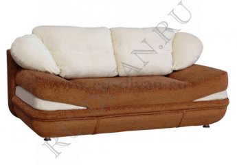 Диван Нега еврокнижка – характеристики фото 1 цвет коричневый