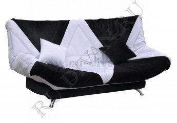 Диван Сантери – характеристики фото 1 цвета: белый, черный