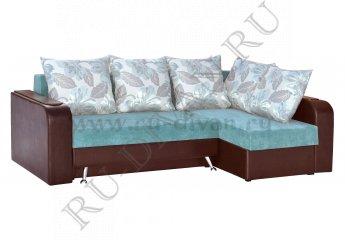 Угловой диван Серенада 2 фото 1 цвет голубой