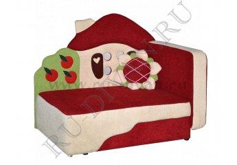 Диван Теремок детский – доставка фото 1 цвет красный
