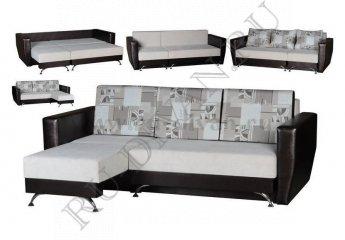 Универсальный диван Трансформер фото 1 цвет серый