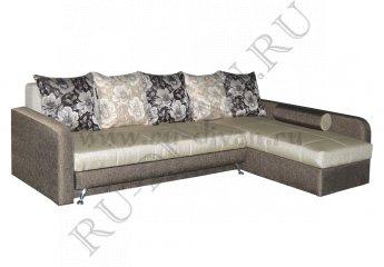 Угловой диван Фэмэли-1 – характеристики фото 1 цвет коричневый