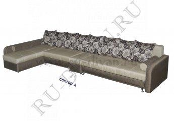 Угловой диван Фэмэли фото 1 цвет серый