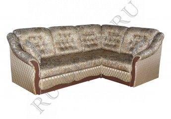 Угловой диван Элизабет фото 1 цвет коричневый