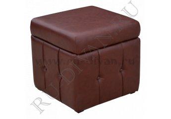Пуф Барон – характеристики фото 1 цвет коричневый