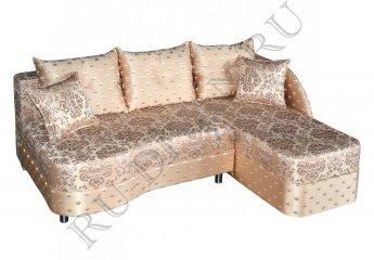 Угловой диван Юнона фото 1 цвет бежевый