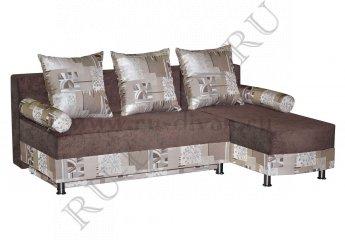 Угловой диван Джесика – доставка фото 1 цвет коричневый