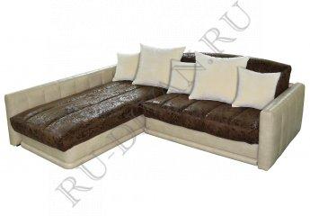 Угловой диван Максимус-1 фото 1 цвет коричневый