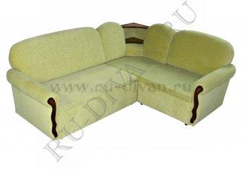Угловой диван Диана фото 1 цвет зеленый