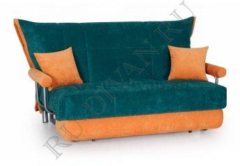Диван Дуэт аккордеон – характеристики фото 1 цвет зеленый