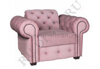Кресло Челентано – доставка фото 1 цвет розовый
