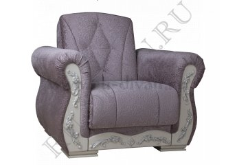 Кресло Розабелла – доставка фото 1 цвет серый