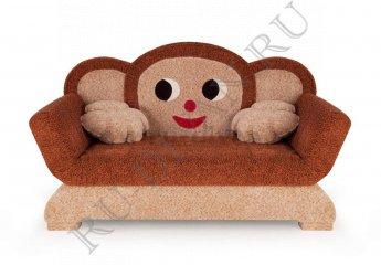 Диван Чебурашка детский фото 1 цвет коричневый