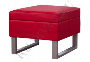 Пуф Проф-С-01 – отзывы покупателей фото 1 цвет красный