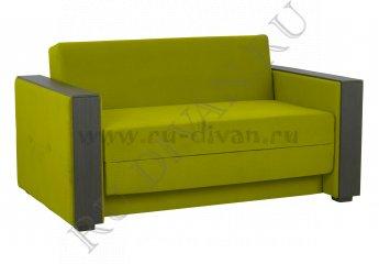 Диван-раскладушка Реджинальд 1 фото 1 цвет зеленый