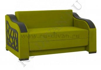 Диван-раскладушка Реджинальд 4 – отзывы покупателей фото 1 цвет зеленый