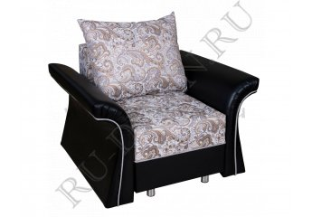 Кресло Мираэль фото 1 цвета: серый, черный