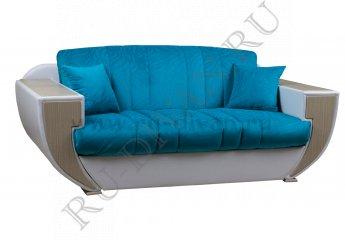 Диван Ночеас аккордеон фото 1 цвета: голубой, белый