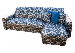 Угловой диван Тахко (Синий)
