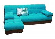Угловой диван Тахко с узкими подлокотниками