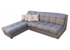 Угловой диван Тахко с узкими подлокотниками (Серый)