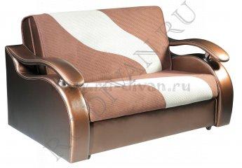 Диван Кардинал аккордеон – отзывы покупателей фото 1 цвет коричневый